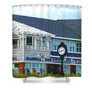 Boardwalk Fries 2 Shower Curtain