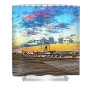 Boardwalk Wonder Shower Curtain