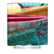 Boat 0005 Shower Curtain