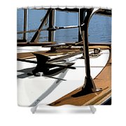Boat Anchor Shower Curtain