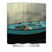 Boat Shower Curtain by Artistic Panda