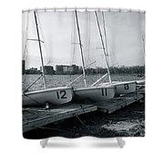 Boat Club #1 Shower Curtain
