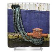 Boat Detail Husavik Iceland 3701 Shower Curtain