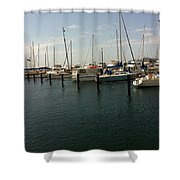 Boat Harbour  Shower Curtain