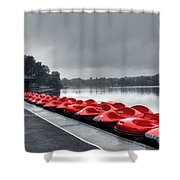 Boat Hire Shower Curtain