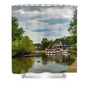 Boat House Row Two Shower Curtain