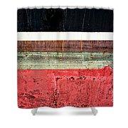 Boat Hull Shower Curtain