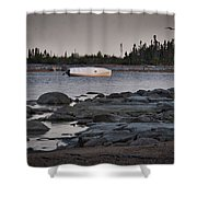 Boat Life Shower Curtain
