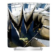 Boat Load Of Reflections Shower Curtain
