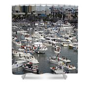 Boat Party Shower Curtain