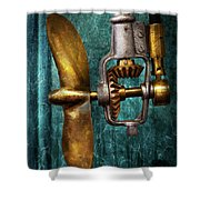 Boat - Propulsion  Shower Curtain