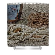 Boat Ropes Shower Curtain
