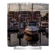 Boat Slip Shower Curtain