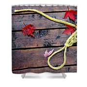 Boaters Chain Shower Curtain