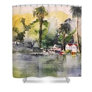 Boathouse Shower Curtain