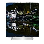 Boathouse Row Eight By Ten Shower Curtain