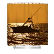 Boating And Fishing Shower Curtain