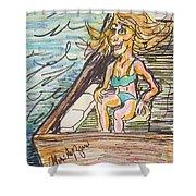 Boating Season Shower Curtain