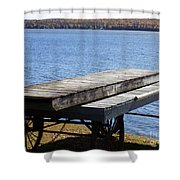 Boating Season Is Over Shower Curtain