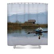 Boatman Shower Curtain