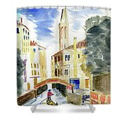 Boatman Shower Curtain