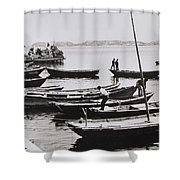 Boatmen Shower Curtain