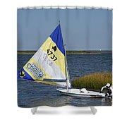 Boats 170 Shower Curtain