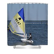 Boats 171 Shower Curtain