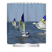 Boats 172 Shower Curtain
