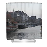 Copenhagen Waterway Shower Curtain