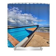 Boats In Mayaro Shower Curtain