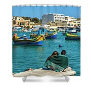 Boats Lovers Shower Curtain