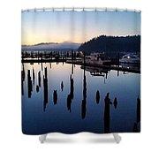 Boats Sleep Shower Curtain