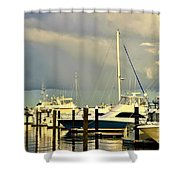 Boatworks 1 Shower Curtain