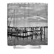 Boatworks 4 Shower Curtain