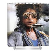 Bob Dillon Shower Curtain