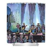 Bob Dylan Tribute Show Shower Curtain
