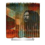 Bob Marley Abstract II Shower Curtain