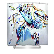 Bob Marley Colorful Shower Curtain