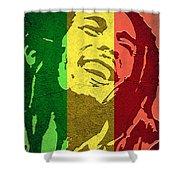 Bob Marley I Shower Curtain