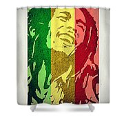 Bob Marley II Shower Curtain