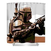 Boba Fett Shower Curtain