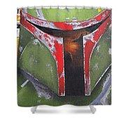 Boba Fett Shower Curtain