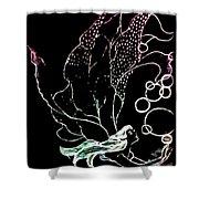 Bobble Fairy  Shower Curtain