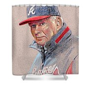 Bobby Cox Shower Curtain