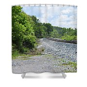 Bobby Mackey's Railroad Shower Curtain