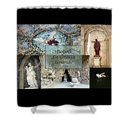 Boboli La Grotta Grande 2 Shower Curtain by Ellen Henneke