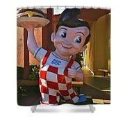 Bob's Big Boy Welcomes You Shower Curtain