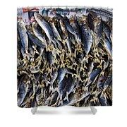 Bodboron Filipino Dried Fish Shower Curtain