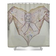 Bodice Shower Curtain